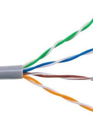 Продам сетевой кабель ( витая пара, кабель для интернета)