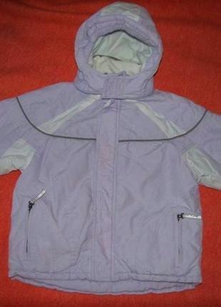 Зимняя мембранная термо куртка C&A Rodeo, р. 122. Непромокаемая