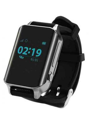 Смарт-часы GoGPS М01 Chrome с GPS треккером 326814