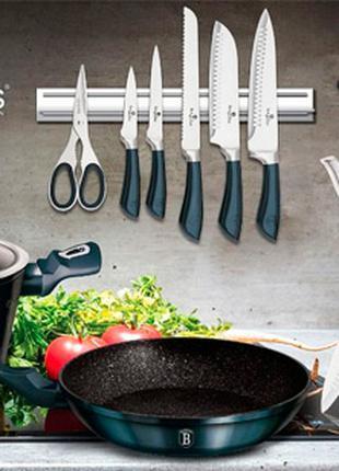 Набор кухонной посуды Berlinger Haus Aquamarine Edition 10 предме