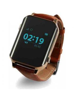 Смарт-часы GoGPS М01 Gold Телефон-часы с GPS треккером 326813