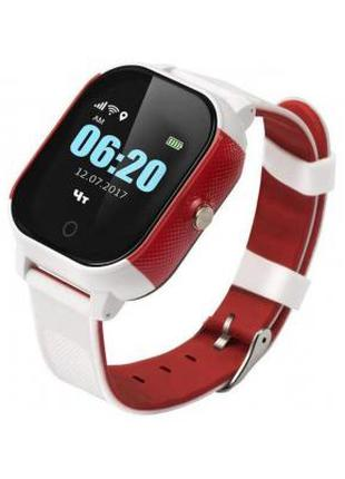 Смарт-часы GoGPS К23 white/red Детские  326808