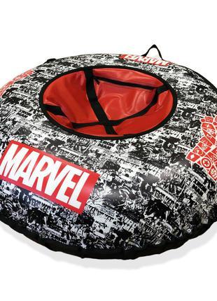 Тюбинг, надувные санки Marvel