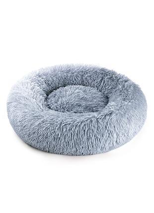 Лежак для животных Lapki Lab, серый 80 см.