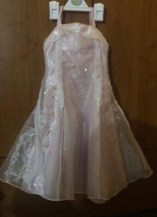 Новогоднее платье на 3-5 лет