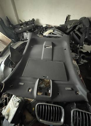 Комплектный Чёрный потолок под люк на BMW X6 e71