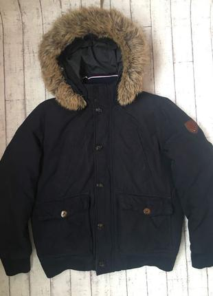 TM Tommy Hilfiger тёплый зимний пуховик куртка