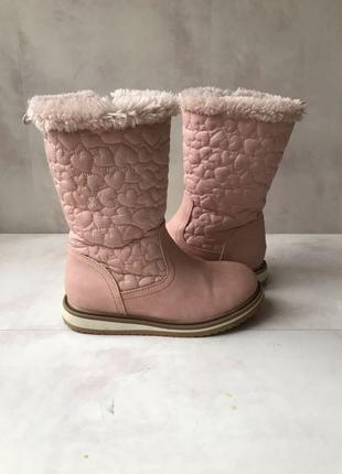 H&m сапоги на меху ботинки 27 размер