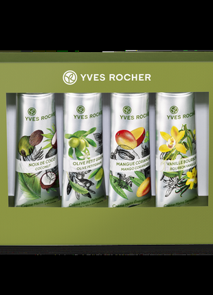 Набор Кремов для Рук Plaisirs Nature Yves Rocher