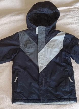 Зимняя термо куртка Columbia Omni-Shield, р. 134-140, на 8-9 лет