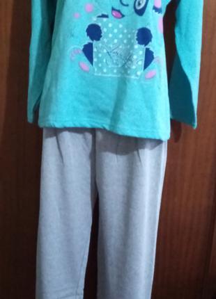 Пижама женская р/р 48,50,трикотаж.