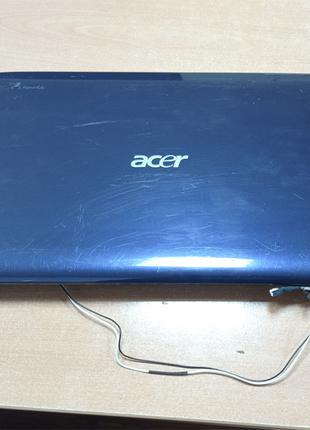 Acer Aspire 4540 крышка матрицы, рамка, петли, шлейф, Web-камера