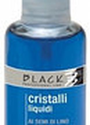 Black Жидкие кристаллы с экстрактом семени льна для тонких и мягк