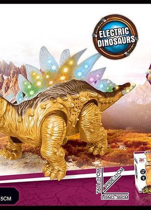 Интерактивное животное 855A (48шт/2)динозавр,батар.,свет,звук,в к
