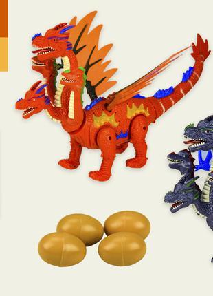 Интерактивное животное 906-2038 (1840592) (36шт/2) динозавр,2 цве