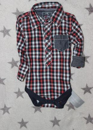 Рубашка 3 мес, одежда для новорожденных