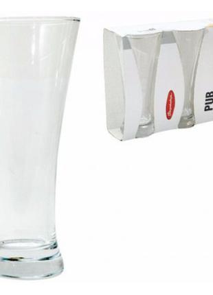 Набор бокалов для пива Pub 3шт. 0,5л