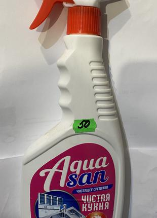 Средство чистящее жидкое «Чистая кухня» AQUASUN 500 мл