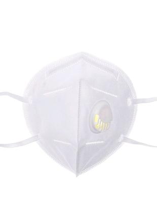Маска респиратор FFP2 с клапаном KN95,маска кн95