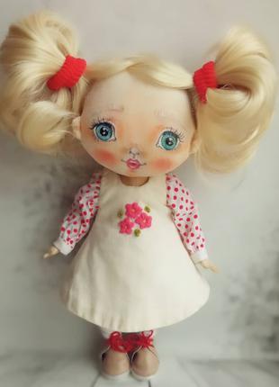 Кукла ручной роботи текстильна
