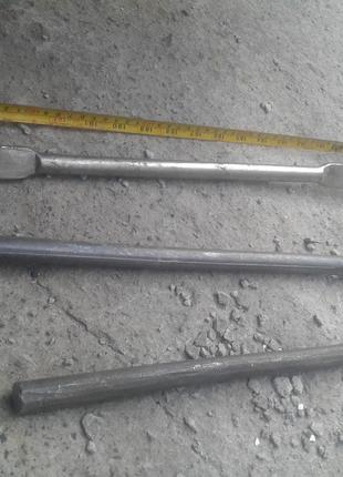 Инструмент титановый: грабли,вилы,лопата,бур