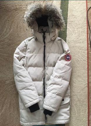 Пуховик куртка парка Canada Goose x TheNorth Face оригинал Кан...