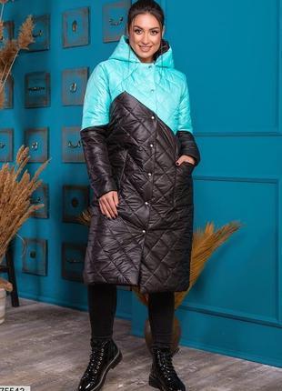 Зимняя куртка пальто большие размеры
