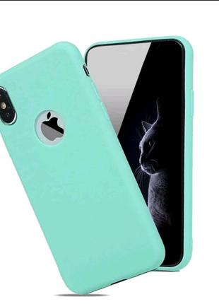 Мягкий Силиконовый Чехол Для IPhone Xs Max