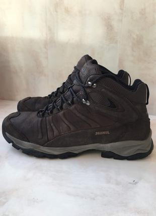 Meindl(scarpa Mammut TNF)47 размер кожаные ботинки осень-зима