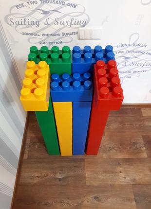 Конструктор Giant Lego, детские строительные кубы