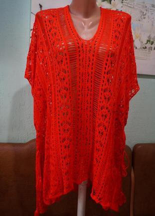 Ажурная блуза ,р.one size