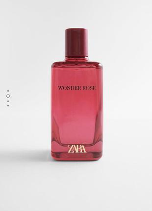 Духи zara wonder rose/парфуми/парфюм /туалетна вода