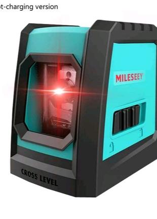 Mileseey L52R лазерный уровень 2 линии крест с магнитом