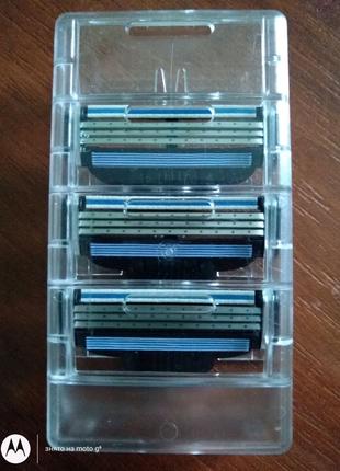 Касети для бриття Gilette Mac3