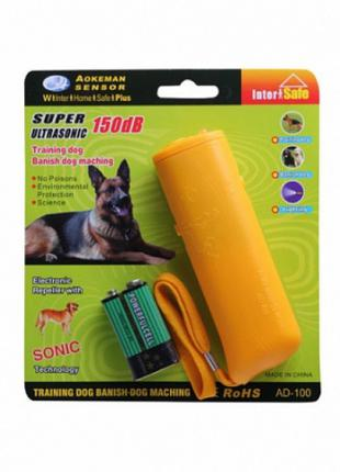 Отпугиватель от собак AD-100 до 15м. 9V Крона