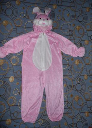 Новогодний костюм зайки 3-5 лет