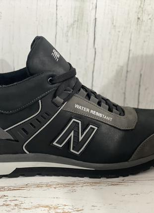 Ботинки/кроссовки натуральная кожа new balance