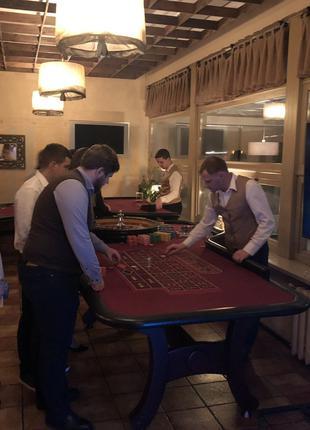 Аренда столов для покера и рулетки