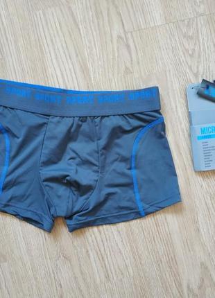 Мужские или подростковые плавки боксеры шорты микрофибра размер s