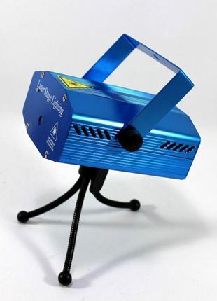 Лазерный проектор, стробоскоп, диско- лазер 4 в 1