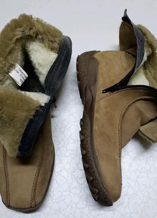 Ботинки зимние из натуральной кожи и меха (Germany)