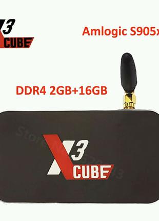 Новая смарт приставка Ugoos x3 cube 2/16