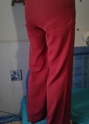Брюки стрейч.широкие(клёш) на длинные ноги р 44 (турция)