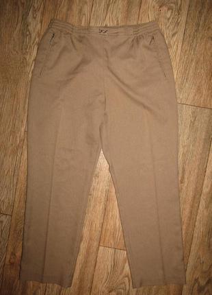 Брюки укороченные брюки р-р л-14 бренд canda