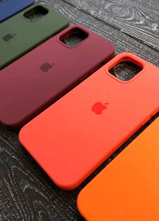 Чехол накладка Soft case iPhone 6 7 8 X 11 12 бампер силикон