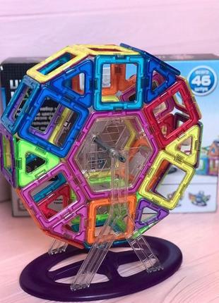 """Магнитный конструктор 3D """"Колесо обозрения"""" Play Smart, 46 детали"""