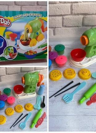 Пластилин плейдо play do тесто фабрика морозива, парикмахер, м...