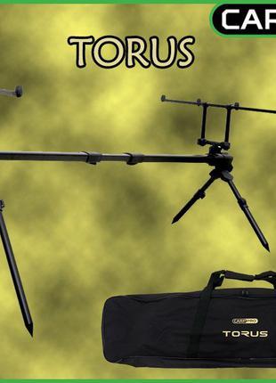 NEW Карповая подставка Род-под Carp Pro Torus на 4 удилища и 4...