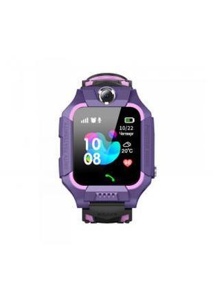 Смарт-часы GoGPS ME K24 Purple (K24PR) 355598