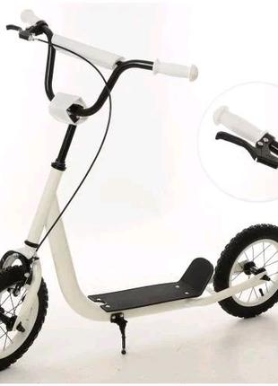 Самокат детский надувные колеса